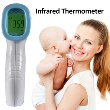 Intelligent Infrared Thermometer Forehead Ear Thermometer Instant Temporal Digital Infrared Thermometer For Babies Kids Adults free shipping infrared ear thermometer and medical infrared thermometer it 122