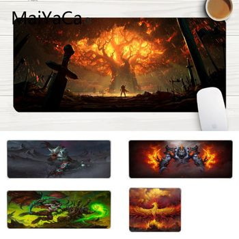 MaiYaCa Gaming Mouse Pad Your Own Mats Gaming World of WarCraft High Speed New Mousepad Laptop Gaming Lockedge Mice Mousepad