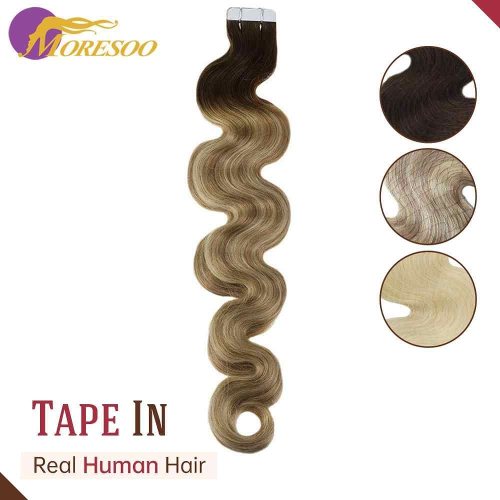 Body Wave Tape In Haarverlenging Machine Remy 20Pcs/50G 14-24Inch Realhair Hair Extensions human Hair Extensions