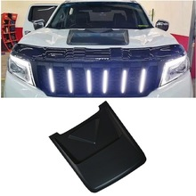 Bug Shields decorative parts raptor bonnet scoop hood cover fit for nissan navara np300 d40 d23