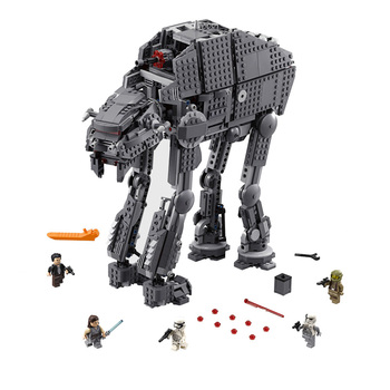 05130 Compatible Lepining 75189 Star Wars Heavy Assault Walker Model Building Blocks Boys Birthday Gift  Toys For Children