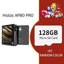 Hidizs-reproductor MP3 AP80 PRO, Dual ESS9218P, Bluetooth, portátil, música, USB, DAC, Audio de alta resolución DSD64/128 apt-x/LDAC, FM, contador de pasos