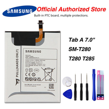 Original Samsung EB-BT280ABE Battery For Samsung GALAXY Tab A 7.0 SM-T280 T280 T285 4000mAh for samsung galaxy tab a 7 0 t280 sm t280 t280n t285 high quality ultra slim silk 3 fold transparent cover stand pu leather case