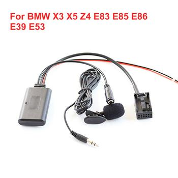 Car Bluetooth Car Aux Auxiliary Line Adapter For BMW X3 X5 Z4 E83 E85 E86 E39 E53 Bluetooth Car Aux Auxiliary Line Adapter image