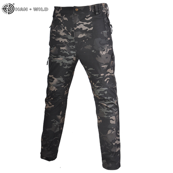 HAN WILD Tactical Camouflage Military Casual Combat Cargo Pants Water Repellent Ripstop Men's 5XL Trousers  Spring Autumn chiefs rattlesnake kryptek mandrake highlander typhon nomad outdoor combat pants ripstop free shipping sku12050331