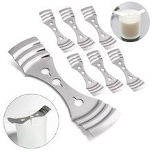 1 sztuk świeca knoty uchwyt knot Centered metalowe urządzenie świeca dostarcza dekoracje dla domu DIY kolacja akcesoria imprezowe tanie tanio CN (pochodzenie)