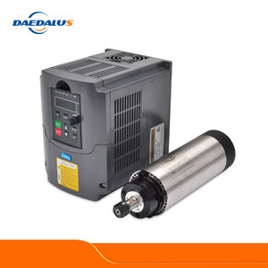 Image 1 - Daedalus 800W Spindle Motor Kit 0.8KW CNC Router Spindle ER11 Milling Motor 1.5KW 220V VFD Inverter Converter For CNC Engraver