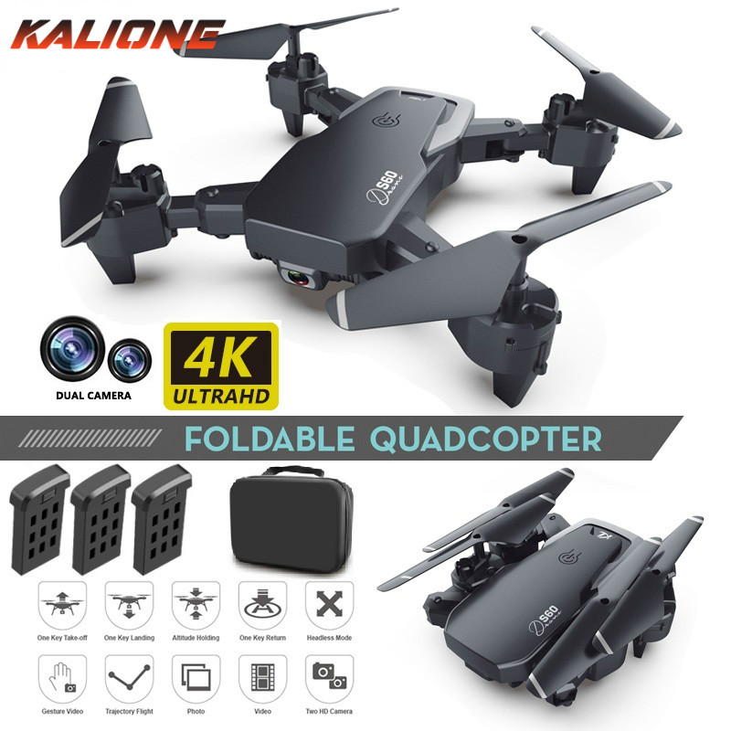 S60 Drone 4k HD Dual Camera 1080P WiFi fpv Drone Quadcopter Fixed Height  dron Camera Dron drones Gift for boy kids VS LF609
