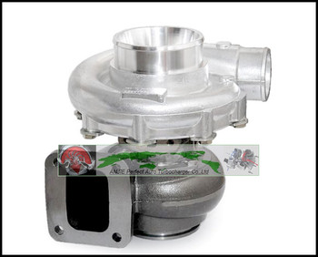 Free Ship Turbo only Water cooled T76 Turbine: A/R 0.68 Comp: A/R 0.80 800-900HP T4 Turbo charger T4 flange V-Band