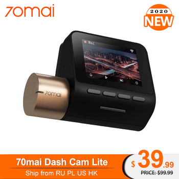 New 70mai Dash Cam Lite version 1080P 130FOV Night Vision 24H Parking Monitor Advanced Assistance System Driving Recorder