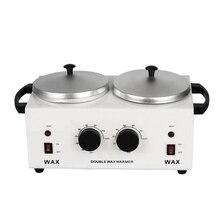 MEIERLIคู่หม้อDepilatory WAXเครื่องอุ่นParaffin WAX Heaterสำหรับมือและฟุตสปาเครื่องกำจัดขนเครื่องมือ
