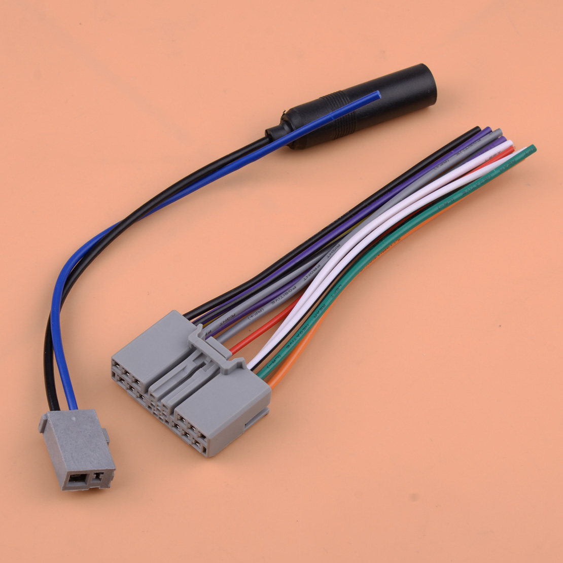 Car <font><b>Radio</b></font> Stereo Plug Wire Harness Cable Antenna <font><b>Adapter</b></font> Kit Fit for Acura MDX <font><b>Honda</b></font> Civic CRV Odyssey <font><b>Jazz</b></font> Fit image