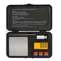 Báscula Digital profesional de alta precisión miligramo 200g/0,01g báscula de joyería portátil minibáscula de cocina para hornear