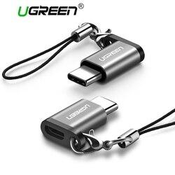Ugreen USB адаптер USB C на Micro USB OTG Тип Кабеля C конвертер для Macbook samsung Galaxy S8 S9 huawei p20 pro p10 OTG адаптер