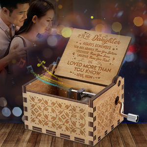 Engraved Music Box - You are M