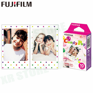 Image 4 - Fujifilm Instax Mini Film 11 8 9 Film 10 Sheet Mini Instant Photo Paper for Camera Instax Mini7s 50s 90 Blue Black Airmail