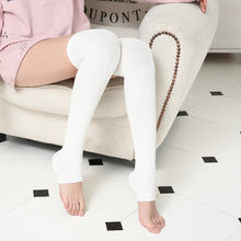 Women Knit Long Boot Socks Over The Knee High Slim Leg Thigh Stockings Stomping over knees Spring and summer women's socks(China)