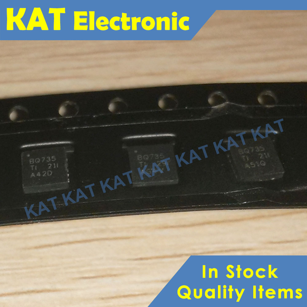 5PCS/lot BQ735 BQ24735 BQ24735RGRR QFN New Original N-Channel Power MOSFET Selector