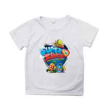 Super zings t shirts o neck printed kids cartoon anime superzings
