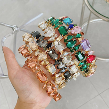 Baroque Headbands Hair-Accessories Crown Pearl Diamond Girls Wholesale Women Luxury