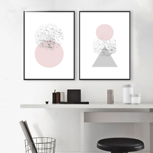 Nordic Geometric Simplicity Abstraction Pictures Prints Home Wall Art Canvas Paintings Decorative Poster Living Room Modular wall art canvas paintings good morning good night bedroom prints black white pictures poster gift kids room decorative