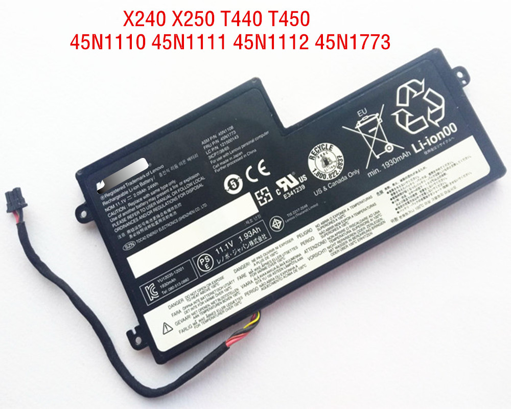 24Wh Original <font><b>battery</b></font> For <font><b>Lenovo</b></font> Thinkpad X240 X250 X260 X270 <font><b>T440</b></font> T450 T460 T440S T450S L450 L460 X230S X240S 45N1111 45N1113 image