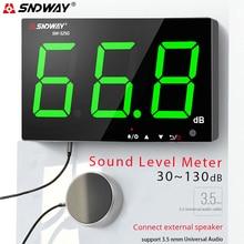 Decibel-Sound-Level-Meter Volume-Db-Tester Noise Wall-Mounted Screen-Display KTV Restaurant-Bar