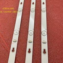 3 unids/set Barra de retroiluminación LED para TCL 39L2650C L39S4900FS L39S4900 OEM39LB06-3030F2.1-V0.2 4C-LB3908-ZM01J
