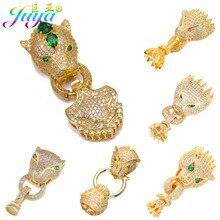 Juya – fermoir connecteur pour fabrication de bijoux, accessoires artisanaux décoratifs, panthère Dragon, perles baroques faites à la main