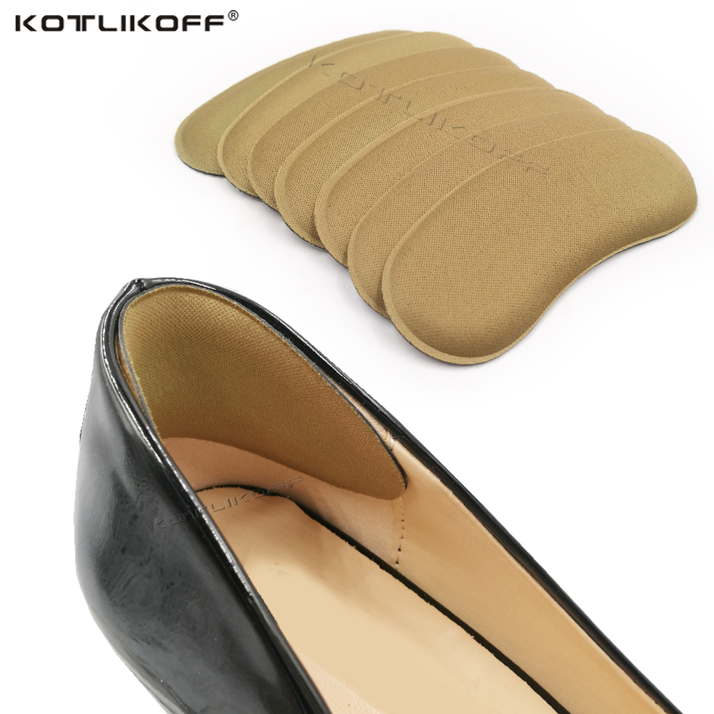2pair High Quality Sponge Invisible Back Heel Pads For High Heel Shoes Grip Adhesive Liner Foot Care Cushion Insert Pads Insoles