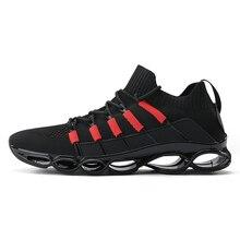 Новинка, мужские кроссовки для бега, бега, прогулок, спорта, высокое качество, на шнуровке, дышащие кроссовки