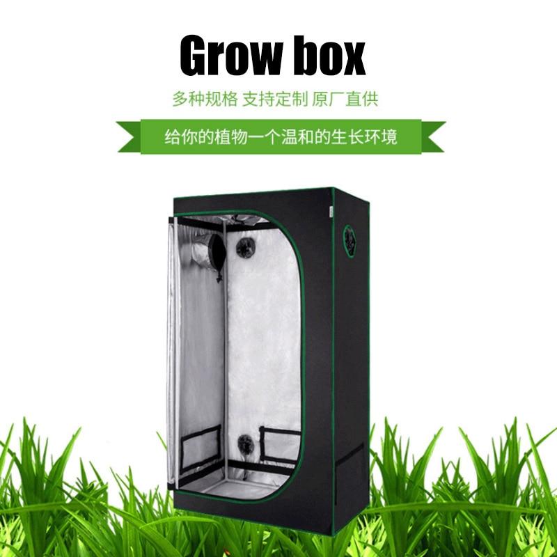 Grow Tent For Seedlings Vegetable Garden Grow House Plant Kweektent Indoor GrowBox Green Box 600D Greenhouse Plant Lighting Tent