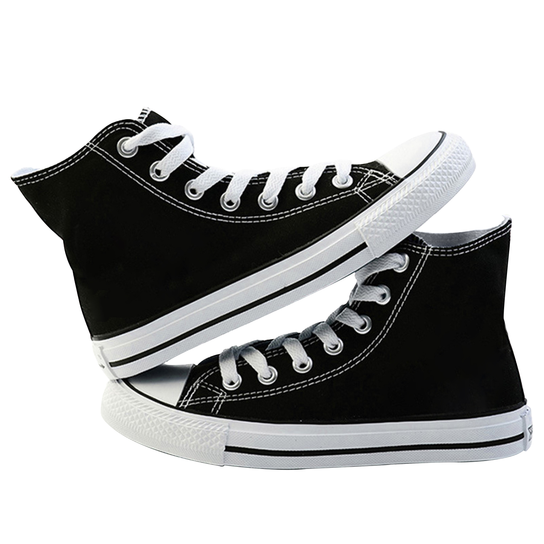 Парусиновая обувь с узором по индивидуальному заказу для мужчин и женщин; Повседневная весенняя женская обувь на высоком каблуке со шнуровкой; кроссовки; модная обувь для влюбленныхКроссовки и кеды   -