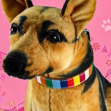 1 шт Многоцветный собачьих ошейников нейлоновый ошейник с гравировкой