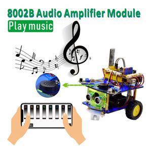 Image 3 - Keyestudio pulpit Mini Bluetooth inteligentny Robot samochodowy zestaw V3.0 dla Arduino Robot macierzystych/wsparcie Mixly bloki kodowania