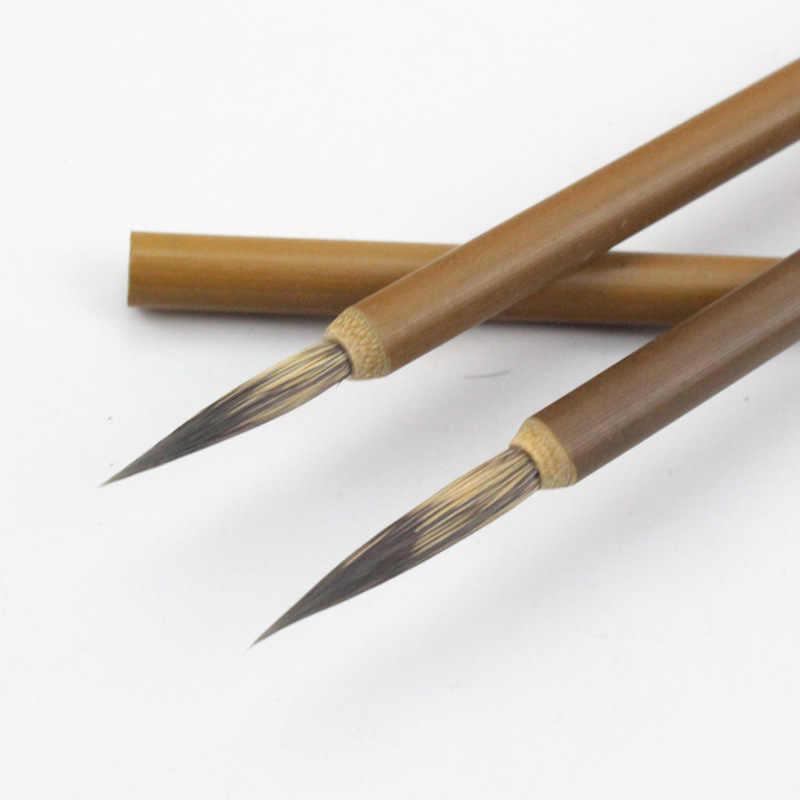 1PC סמור שיער וו קו צבע בסדר סיני מברשת קליגרפיה מברשת עט מברשת צבע אמנות נייח שמן ציור מברשת