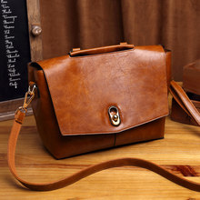 cow genuine leather bag ladies winter women's leather handbags big female shoulder bag hand bags for women Feminina Ladies K25(China)
