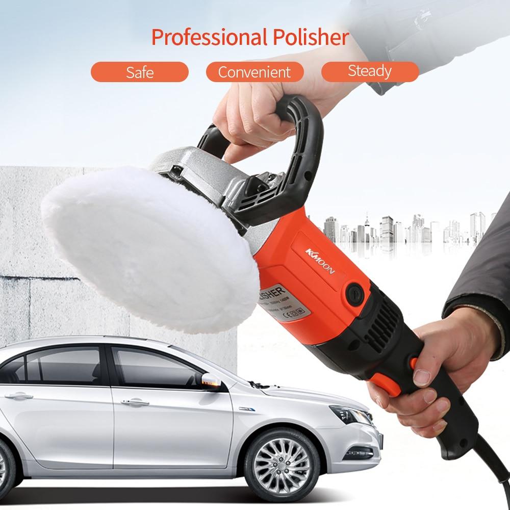 Image 5 - 1580W 220V Grinder Mini Polishing Machine Car Polisher Sanding Machine Orbit Polish Adjustable Speed Sanding Waxing Power Tools-in Polishers from Tools on