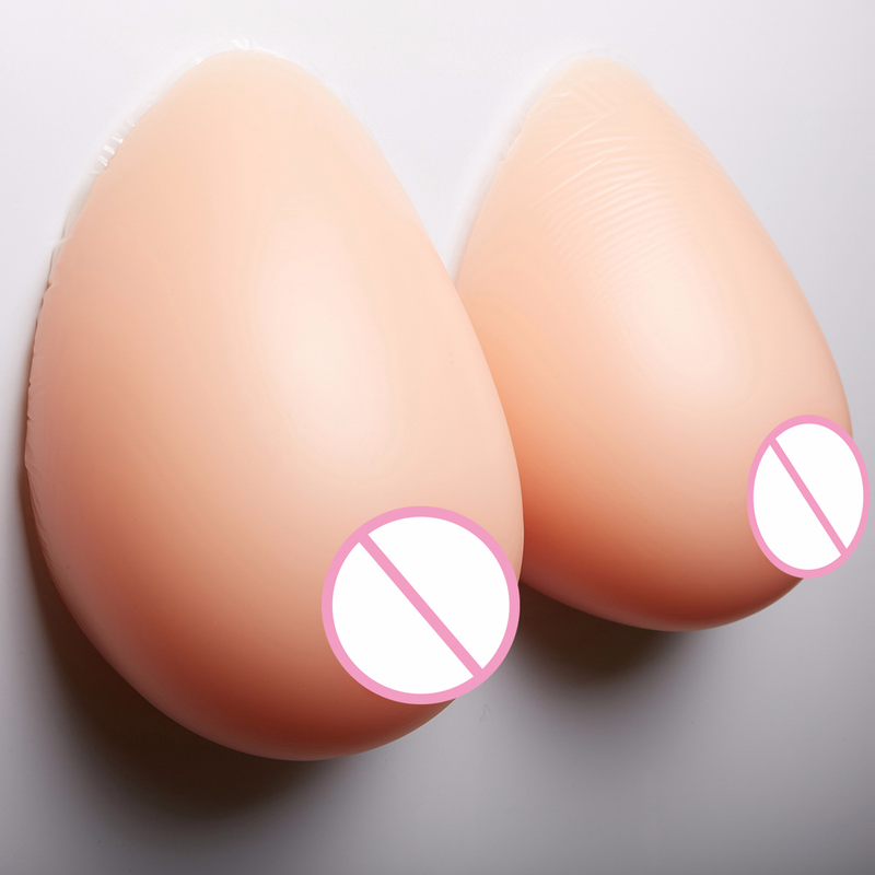 False Breast Artificial Breasts Silicone Breast Forms For Postoperative Crossdresser Pair Breasts Chest Special Protection Sets
