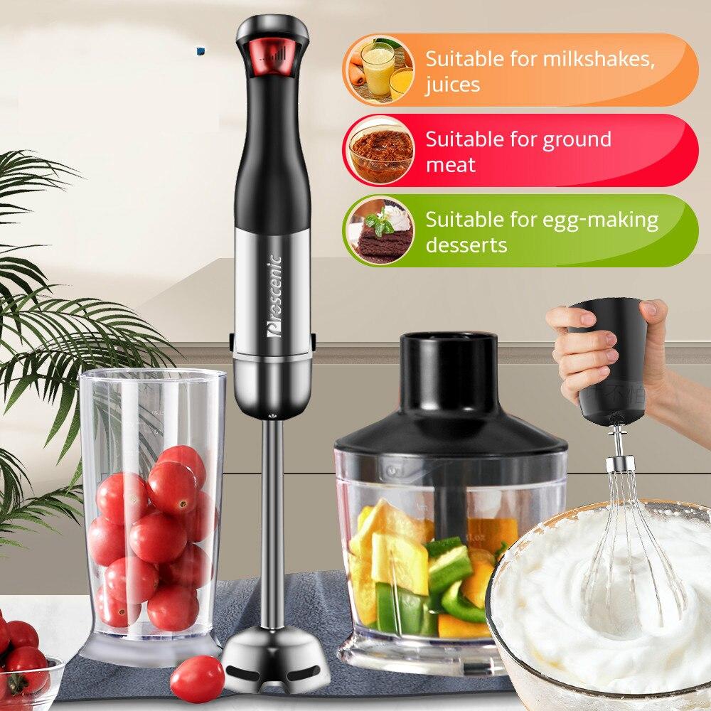 Портативный миксер, блендер, Электрический погружной ручной блендер, миксер, мясорубка, соковыжималка, кухонный продукт, устройство для изг...