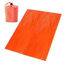 Портативное алюминиевое аварийное одеяло, одеяло для пустыни, выживаемость, теплоизоляционное одеяло