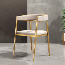 Dining-Chair Nordic-Light Hotel Restaurant Modern Home Leisure Simple Luxury