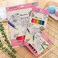 Цветные карандаши, 12 цветов s, 24 цвета s, ученики письма, живопись, граффити, Детские художественные принадлежности, цветные свинцы в коробке