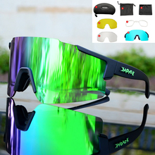 9270 style cycling glasses JAW Full red blue green Polarized Bike Glasses Bicycle Sports