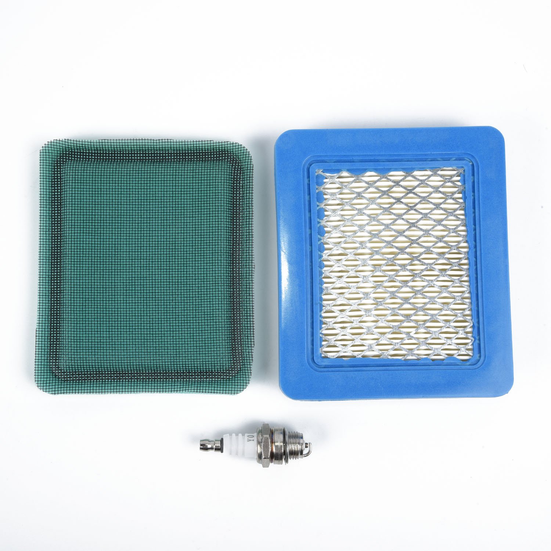 Air Filter Spark Plug Prefilter Kit For Briggs Stratton 491588S 491588 493537S Lawn Mower Parts Power Equipment Supplies