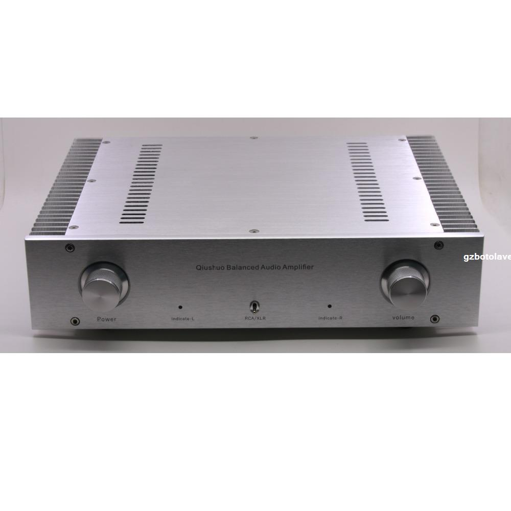 2019 New Assembled LM3886 Fully Balanced <font><b>Amplifier</b></font> Stereo HiFi <font><b>120W</b></font>+<font><b>120W</b></font> <font><b>Amplifier</b></font> Audio image