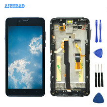 AICSRAD For Elephone Soldier LCD Display + Touch Screen Digitizer Glass Panel Assembly For Elephone Soldier 2560*1440 Cell Phone