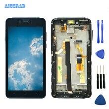 AICSRAD Voor Elefoon Soldaat Lcd scherm + Touch Screen Digitizer Glazen Paneel Montage Voor Elefoon Soldaat 2560*1440 Mobiele telefoon