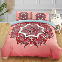 1 Pc Duvet Cover+2Pcs Pillowcases Peking Opera Mask Bedding Set Farewell My Concubine Quilt Cover Queen/King Size Home textile home textile three piece bedding 2 pillowcases 1 quilt cover simple solid color 150 210 cm young bedroom supplies 2020 fashion