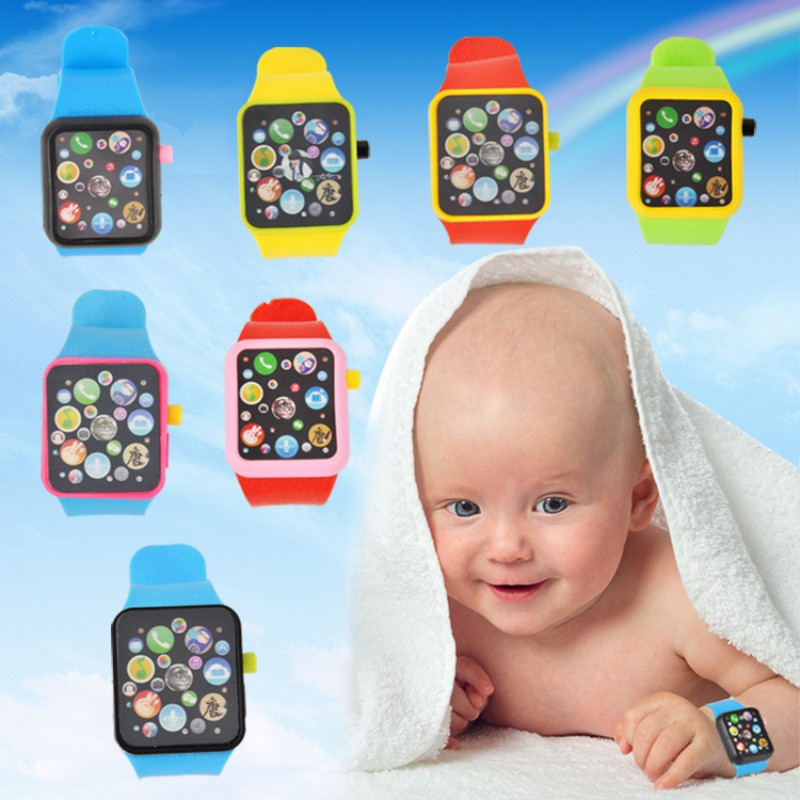 Fashion Baby Toys Over 3 Years Children\\\'s Multi-function Smart Watch Infant Kinds Sound Story Toy Watches